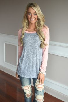 Just Because Top ~ Coral – The Pulse Boutique