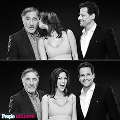 Say 'TV!' See Who's Having Fun at the TCAs | THE CAST OF FOREVER | Who says three's a crowd? The stars of ABC's Forever – Judd Hirsch, Alana de la Garza & Ioan Gruffud – share the love during their Monday photo op.