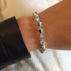 Alex & Ani Swarovski Crystal Bangle Swarovski Crystals. Worn only once!! No box. Alex & Ani Jewelry Bracelets
