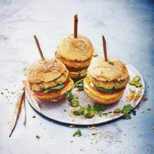 Tupperware - Burgers poulet tandoori