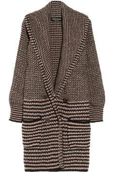 Sonia Rykiel|Chunky-knit alpaca-blend cardigan|NET-A-PORTER.COM
