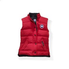 Women Canada Goose Red Freestyle Vest
