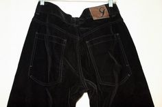 Sean John Black Velour Pants - 32/30 - 100% Cotton | eBay