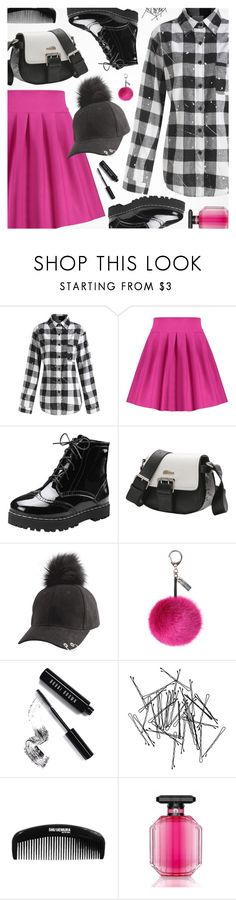 """""""Edgy Style"""" by pokadoll ❤ liked on Polyvore featuring Helen Moore, Bobbi Brown Cosmetics, Monki, shu uemura and Victoria's Secret"""