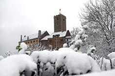 Winterliche Impression von der Wartburg. Foto: Heiko Kleinschmidt
