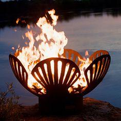 Seashell Fire Pit