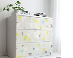 Upgrade your walls with this elegant Triangles Mid Century Wallpaper adding an exclusive touch to your personal style and surprise your family and friends. New Wallpaper, Fabric Wallpaper, Mid Century Dresser, Simple Addition, Self Adhesive Wallpaper, Cool Patterns, Textured Walls, Fabric Material, Furniture Decor