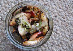 // marinated mushrooms