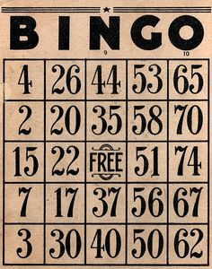 Bingo! Family tradition! Christmas Eve party I host this year 30+ people! Get ready to play!!!