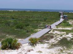 ship island mississippi | Panoramio - Photo of Boardwalk across Ship Island, Mississippi
