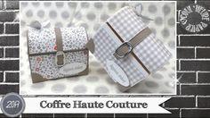 """Vidéo-Tuto """"Coffre Haute Couture"""" par Coul'Heure Papier"""