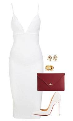 """""""Untitled #737"""" by sapphirecavill on Polyvore featuring Christian Louboutin and Vivienne Westwood"""