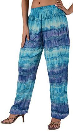 Skirts N Scarves Women's Rayon Tie Dye Harem Pant (Multi) Skirts 'N Scarves http://www.amazon.com/dp/B00KNV34OA/ref=cm_sw_r_pi_dp_ecqTwb1H6243N