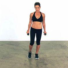 Try the Pendulum Lunge Exercise - Jillian Michaels