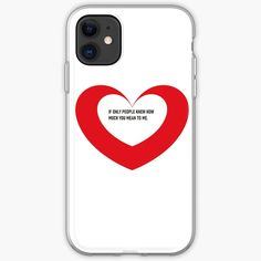 'Valentine day heart gifts' iPhone Case by CthroughMYeyes