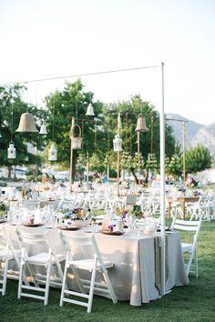backyard reception, photo by Yeliz Atici http://ruffledblog.com/turkey-destination-wedding #weddingideas #weddingreception