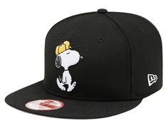 Snoopy Snapback Cap by PEANUTS x NEW ERA