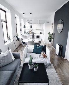 Some Surefire Tips For Home Improvement Success - Small Apartment Living - Apartment Decor Small Apartment Living, Small Apartment Decorating, Small Apartments, Small Spaces, Small Living, Modern Living, Apartment Interior, Room Interior, Dream Apartment