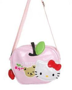 Hello Kitty Pink Apple Purse