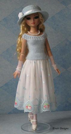 Evati OOAK Outfit for Ellowyne Wilde by *evati* via eBay, SOLD 6/18/14 $47.00: