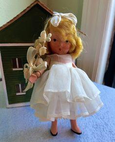 Vintage Nancy Ann Storybook Doll-Storybook by Jewelmoon on Etsy