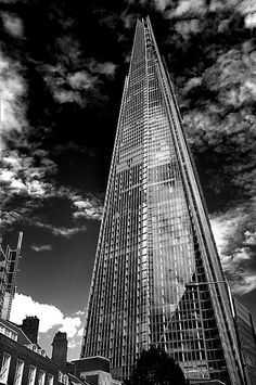 The Shard - London.    Tallest office bldg in Europe.