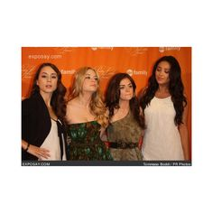 Troian Bellisario, Ashley Benson, Lucy Hale, Bianca Lawson Photo ❤ liked on Polyvore