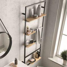 Modern Floating Shelves, Floating Shelves Bathroom, Bad Inspiration, Bathroom Inspiration, Bathroom Design Small, Bathroom Interior Design, Bathroom Furniture, Diy Furniture, Furniture Online