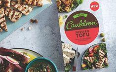 Cauldron Foods unveils new Pressed Tofu product and Tandoori Bites - FoodBev Media Meze Platter, Chilli Spice, Vegan Greek, Food Packaging Design, Protein Sources, Cauldron, Plant Based Recipes, Tofu, Food And Drink