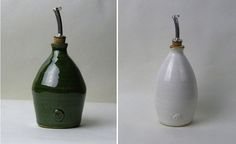 Olive Oil Bottles by Martin Wilson and Pam-Smith in Trawden I Remodelista