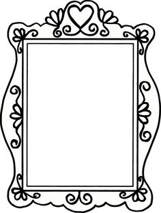 Hand drawn doodles of a variety of picture frames 리그 рисунки Friends Picture Frame, Picture Frames, Picture Frame Template, Diy And Crafts, Crafts For Kids, Doodle Frames, Scrapbook Frames, Frame Clipart, Borders And Frames