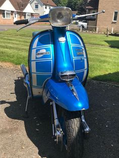 Lambretta Italian 1970 GP 150 with a 200 Engine Lambretta Scooter, Scooters, Old And New, Motorcycles, Engineering, Trucks, Brand New, Cars, Ebay