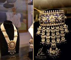 Jewelry OFF! Traditional Rajasthani  with  work is a sign of royalty with a touch of modern ethnicity. Indian Jewelry Earrings, Indian Jewelry Sets, Indian Wedding Jewelry, Bridal Jewelry, Gold Jewellery, Choker Necklaces, India Jewelry, Indian Weddings, Diamond Jewelry