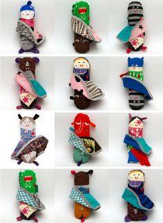 Dolls by Miszkomaszko @FineLittleDay