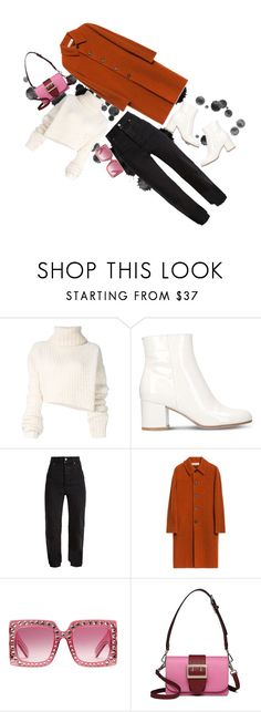 """""""grigio girls"""" by angel534 on Polyvore featuring Ann Demeulemeester, Gianvito Rossi, Vetements and Gucci"""