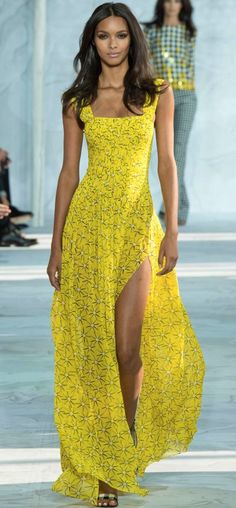 "the-chanel-charade: "" thevsangelz: "" New York Fashion Week Update Lais Ribeiro walking Diane von Furstenberg Spring Summer 2015 "" X "" New York Fashion, Runway Fashion, Spring Fashion, Fashion Show, Fashion Design, Fashion 2015, Female Fashion, Fashion Weeks, London Fashion"