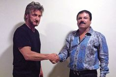 Los actores Sean Penn y Kate del Castillo entrevistaron a 'El Chapo' en México para la revista Rolling Stone - The New York Times