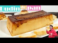 Bread pudding, easy and inexpensive recipe. Inexpensive Meals, Recipes For Beginners, Diet Recipes, Yummy Recipes, Cheesecake Recipes, Hot Dog Buns, Food Videos, Bread, Ethnic Recipes