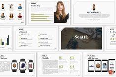 Seattle – Presentation Template – Pixelify