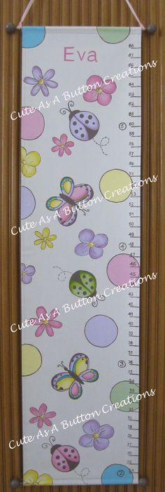 Ladybugs and butterflies Growth-chart