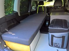 Skoda Roomster RV Mini Camper with an AvonVale kit added - Single Bed, Galley and Fridge