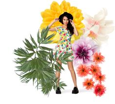 """""""Floral Chic"""" by nandana on Polyvore"""