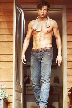 Shirtless Sebastian Stan: 'Picnic' on Broadway Ends Today!: Photo Sebastian Stan shows off his ripped abs while going shirtless in his Broadway play Picnic, which is ending its limited run today (February in New York City. Sebastian Stan Sin Camisa, Sebastian Stan Shirtless, Sebastin Stan, Foto Fantasy, Hommes Sexy, Hot Hunks, The Face, Bucky Barnes, Ben Barnes