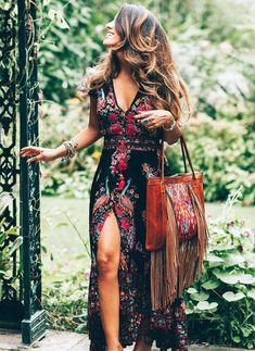 boho dresses are offered on our internet site. Take a look and you wont be sorry you did. Mode Outfits, Chic Outfits, Fashion Outfits, Womens Fashion, Ladies Fashion, Summer Outfits, Club Fashion, 1950s Fashion, Fashion Clothes