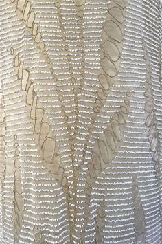 flapper gown - details.