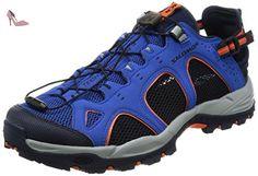 Salomon Techamphibian 3 Chaussures FOULE d'eau pour hommes, Bleu, 43 1/3 - Chaussures salomon (*Partner-Link)