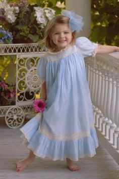 Love this Mela Wilson dress sans the red toenails :) Sewing For Kids, Baby Sewing, Little Girl Dresses, Flower Girl Dresses, Christening Gowns, Heirloom Sewing, Lace Embroidery, Communion, Night Gown
