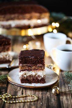 Ciasto Świąteczne Sweet Desserts, Sweet Recipes, Cake Recipes, Dessert Recipes, Bread Recipes, Recipes Dinner, Cinnamon Roll Pancakes, Polish Recipes, How Sweet Eats