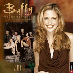 Buffy The Vampire Slayer Wall Calendar: First a cult classic, then a successful television show, Buffy the Vampire Slayer continues to outlive even the most unvanquishable of the undead. The Buffy the Vampire Slayer 2013 Wall Calendar is packed with the greatest moments from this eternally popular series.  $13.99  http://calendars.com/Sci-Fi-TV/Buffy-The-Vampire-Slayer-2013-Wall-Calendar/prod201300000457/?categoryId=cat00079=cat00079#
