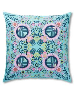 Bohemian Mirrored Cushion | M&S